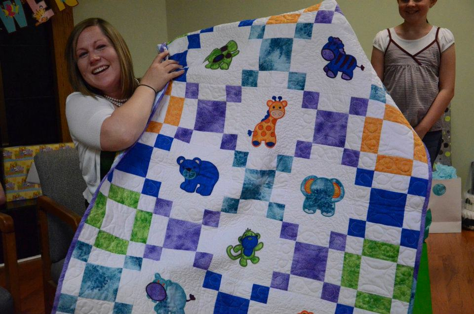 Machine Embroidery Baby Quilts | makaroka.com : baby quilts to embroider - Adamdwight.com